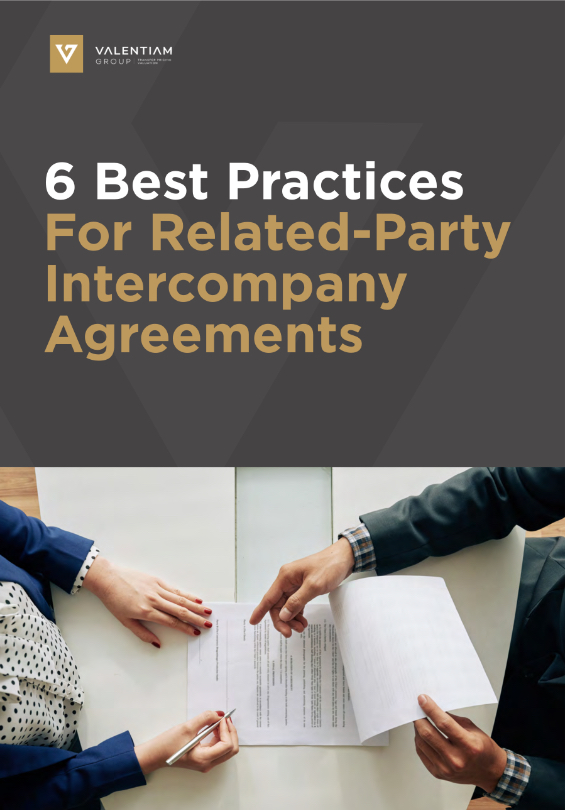6 Best Practices For Related-Party Intercompany Agreements