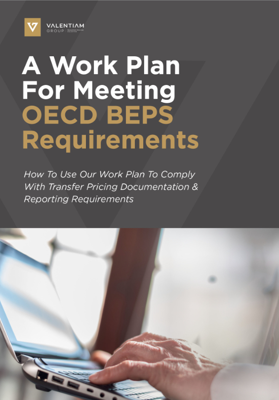 A Work Plan For Meeting OECD BEPS Requirements