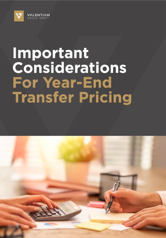 Important Considerations For Year-End Transfer Pricing